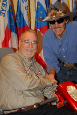 Hodge and Richard Petty